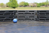 Outdoor Gaga Ball Pit with flooring