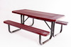 6' Rectangular Table Expanded Metal