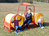 The Steam Roller is fun for ages 2-5