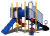 Clearview Custom Play Structure - Back View