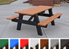 A-Frame Picnic Table with Color Slats