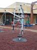 Prevents erosion under playground equipment