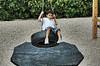 2 Pc Beveled Tire Swing Wear Mat