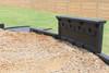 "Border Bench with 12"" Border Timbers, ADA Half Ramp and Engineered Wood Fiber"