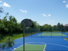 Your kids are sure to have a blast with the Contender 25x30 Basketball Court!