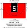 Shown is what's included with your Competitor 30x45 Basketball Court