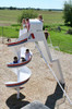 12' Freestanding Spiral Slide