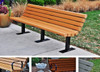 Jameson Bench with Color Slats