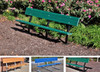 Madison Bench with Color Slats
