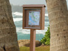 Small outdoor message board - ideal for trails - fitness, walking, nature