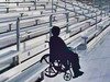 Meet ADA requirements with ADA bleachers for your community.