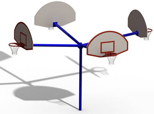 It's the perfect basketball goal!