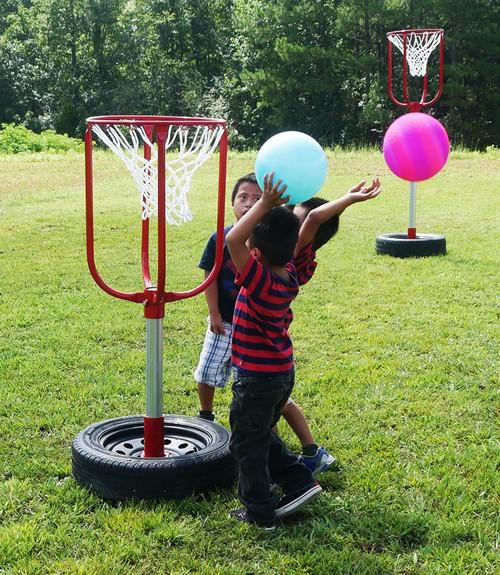 Infinity Playgrounds Fun Shot Basketball Hoop