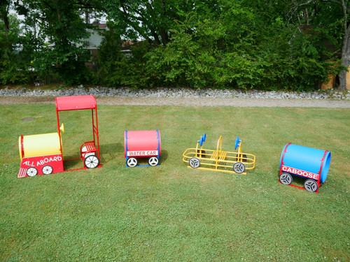 Four Piece Train Set