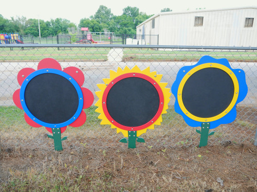 Infinity Playgrounds Chalk Board Flowers