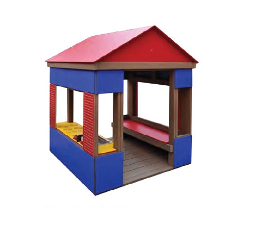 Make your playground pop with the Polytone Playhouse