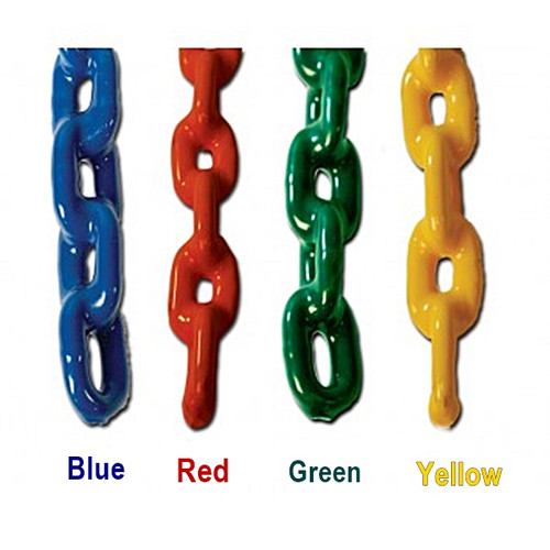 Plastic Coated Commercial Swing Chain (Pair)