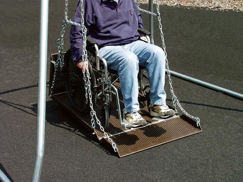 Wheelchair Swing Platform- No Frame