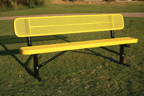 Rectangular Bench available in portable, surface, inground mount