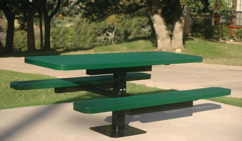 Single Pedestal Tables: 6ft Rectangular, Square, Round Octagon