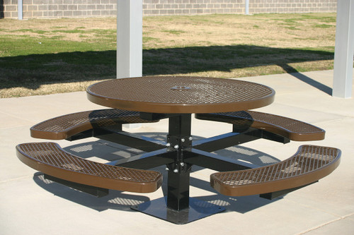 "MyTCoat 46"" Round Pedestal Table"