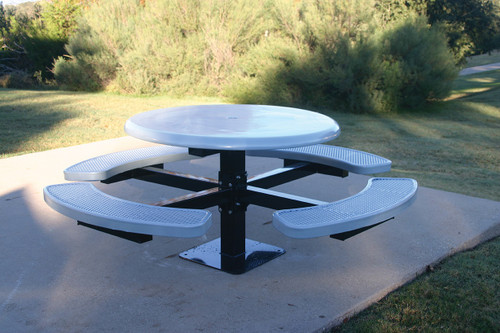 MyTCoat Round Solid Top Pedestal Table