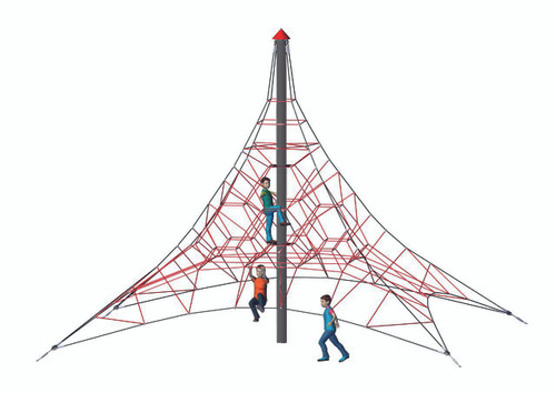 Spider Pyramid 6-4 is the perfect size for smaller areas