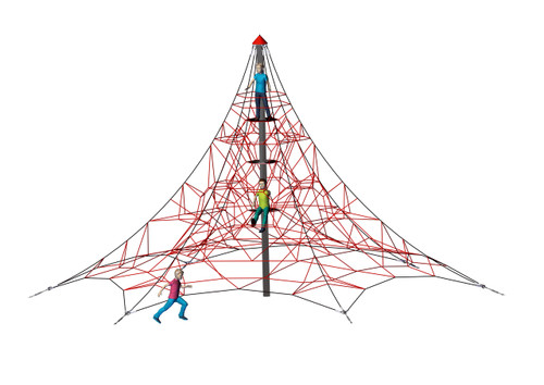 Spider Pyramid 6-6 is an exciting challenge for ages 5-12