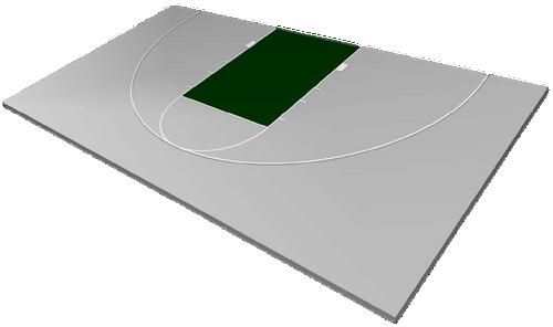 FlexCourt Superior 30x50 Basketball Court