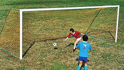 The Portable Steel Soccer Goal