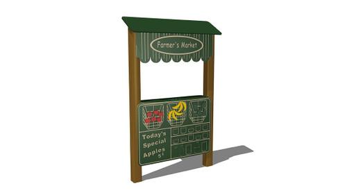 Farmer's Market Stand