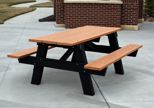 Frog Furnishings A-Frame Picnic Table