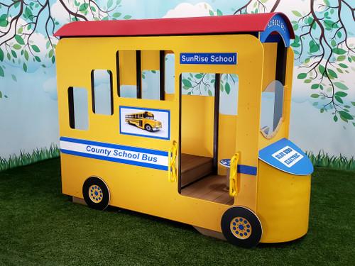 School Bus Play Center