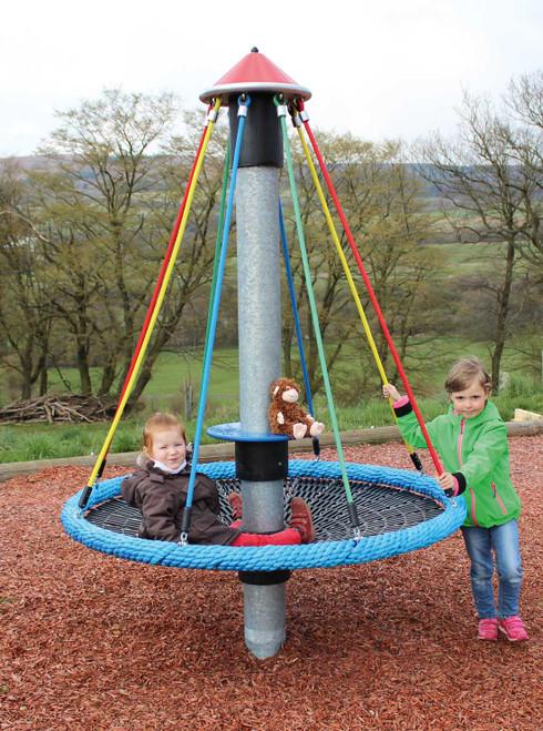 NetPlay Mini Bird's Nest Playground Carousel