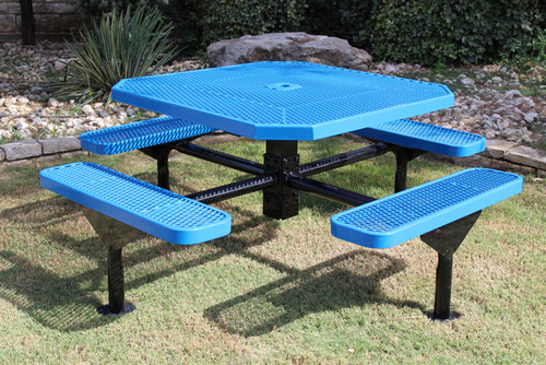 Octagon Nexus Pedestal Table