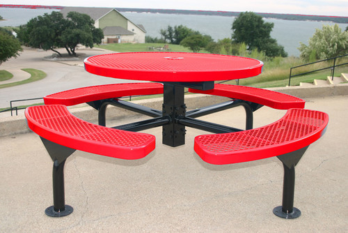Round Nexus Pedestal Table