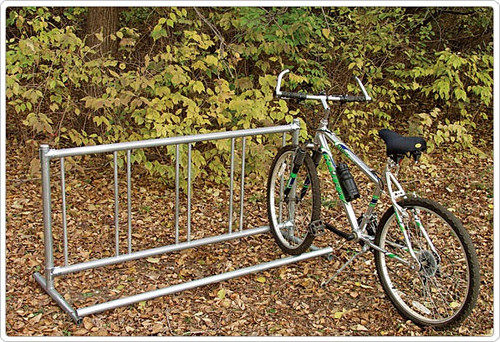5ft portable options holds up to 5 bikes at a time