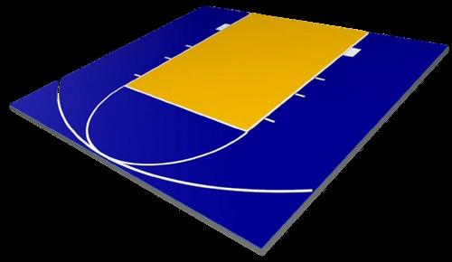 FlexCourt Defender 25x25 Basketball Court