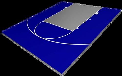FlexCourt Contender 25x30 Basketball Court