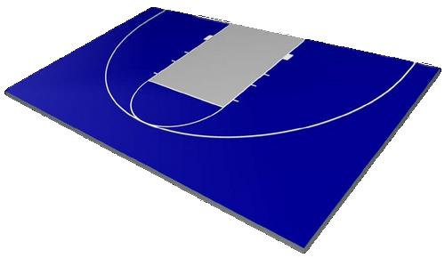 FlexCourt Competitor 30x45 Basketball Court