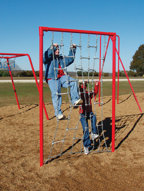 The boarding net will provide tons of fun for everyone!