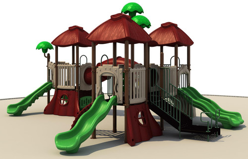 Geary Tree House Play Structure - Front View
