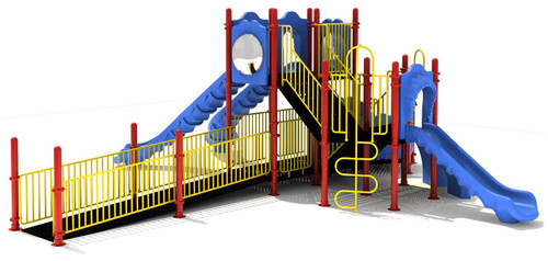 Simms Play Structure - Front View
