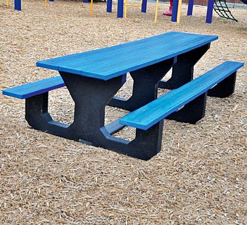 The Toddle Picnic Table is manufactured to stand up to many years of use.