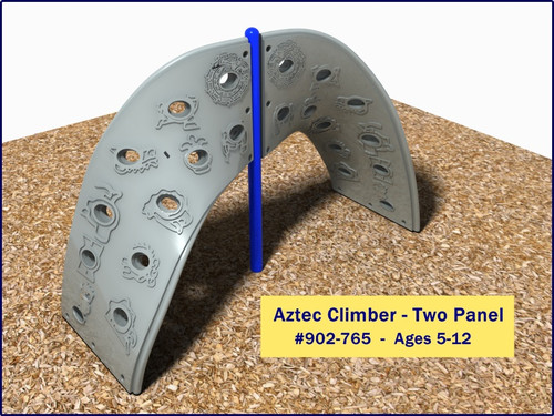The Two Panel Aztec Climber is fun for ages 5-12!