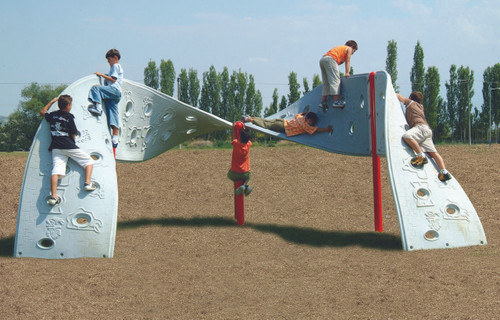 """With its unique """"M"""" Shape, more kids are able to enjoy the fun!"""