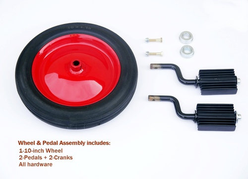 Infinity Playground Cycle Wheel & Pedal Replacement Parts