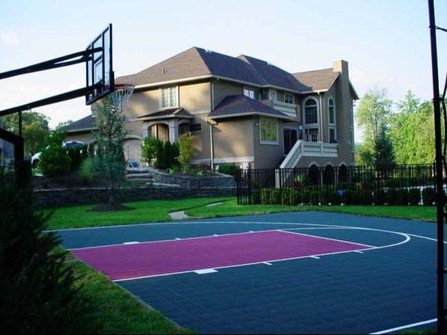 Outdoor Basketball Court Png