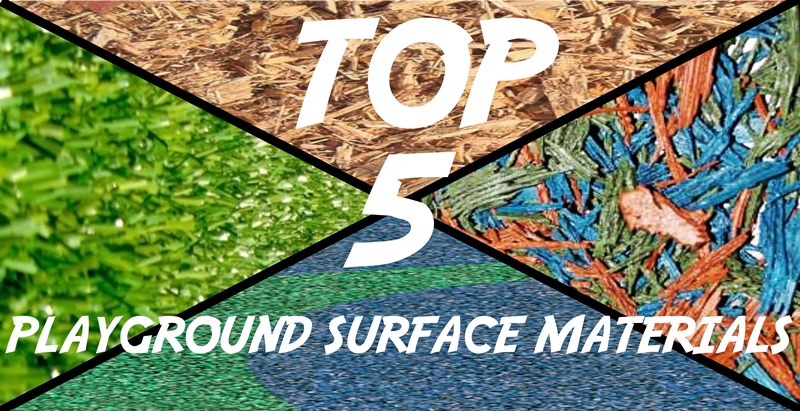 Top 5 Playground Surface Materials - Noahs Park and Playgrounds