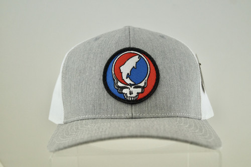 3RA Steal Your Face Cap - Heather Grey/White